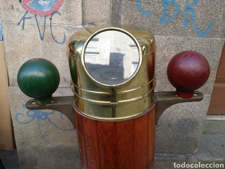 Antigüedades: BITACORA BRUJULA TREPAT BARCELONA PASEO DE COLON 12 ESPECTACULAR VER FOTOS - Foto 6 - 82709687