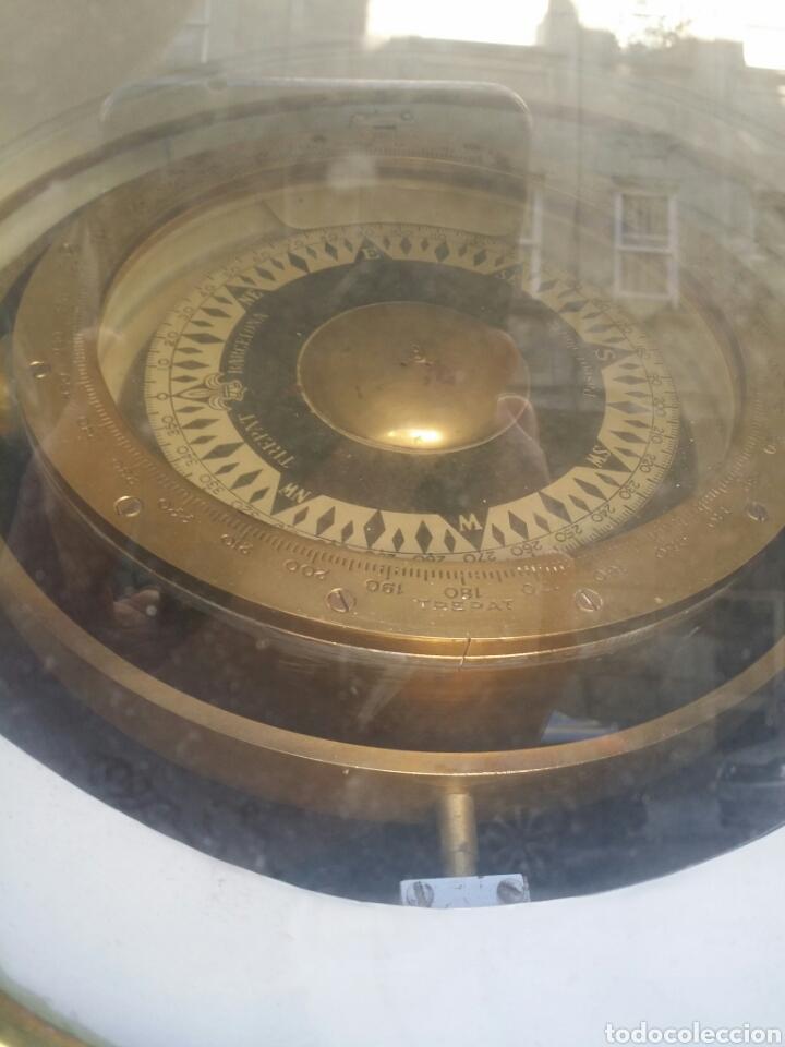 Antigüedades: BITACORA BRUJULA TREPAT BARCELONA PASEO DE COLON 12 ESPECTACULAR VER FOTOS - Foto 16 - 82709687