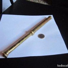 Antigüedades: CATALEJO ANTIGUO STANLEY LONDON DE BRONCE. Lote 82731968