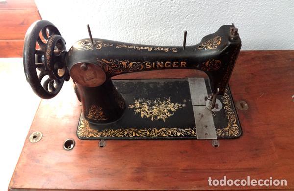 Antigüedades: Máquina de coser Singer - Foto 3 - 82394727