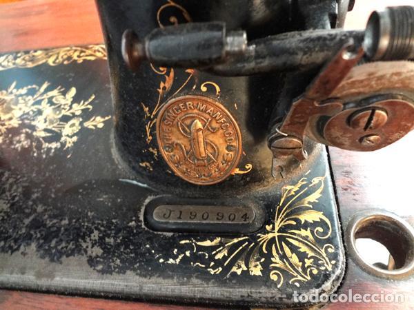Antigüedades: Máquina de coser Singer - Foto 4 - 82394727