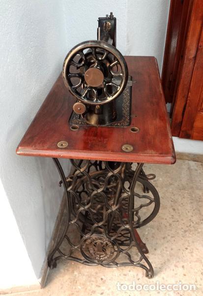 Antigüedades: Máquina de coser Singer - Foto 5 - 82394727