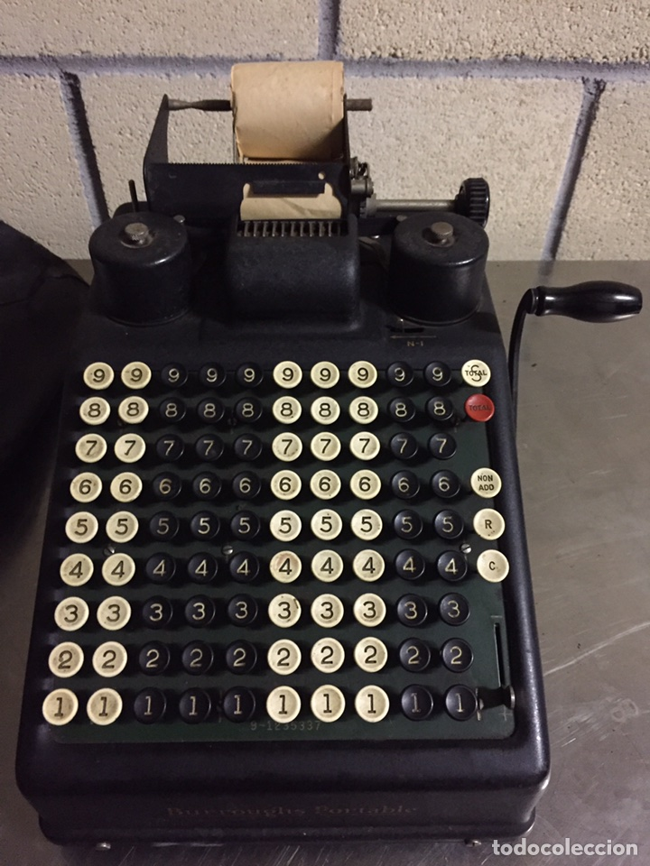 CALCULADORA REGISTRADORA BURROUGHS 1927 (Antigüedades - Técnicas - Aparatos de Cálculo - Calculadoras Antiguas)