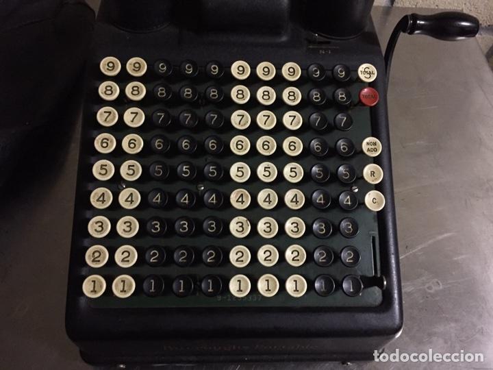 Antigüedades: Calculadora registradora Burroughs 1927 - Foto 4 - 82814631