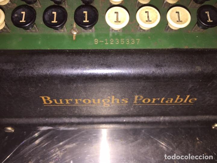 Antigüedades: Calculadora registradora Burroughs 1927 - Foto 6 - 82814631