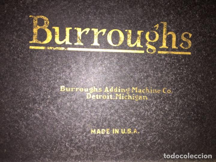 Antigüedades: Calculadora registradora Burroughs 1927 - Foto 8 - 82814631
