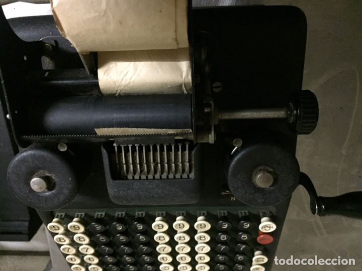 Antigüedades: Calculadora registradora Burroughs 1927 - Foto 9 - 82814631