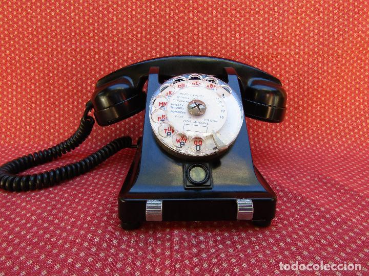 Teléfonos: TELEFONO CENTRALITA DE LA MARCA ERICSSON (FRANCIA). MEDIADOS DEL SIGLO XX. - Foto 2 - 82829212