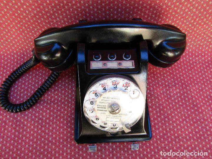 Teléfonos: TELEFONO CENTRALITA DE LA MARCA ERICSSON (FRANCIA). MEDIADOS DEL SIGLO XX. - Foto 3 - 82829212