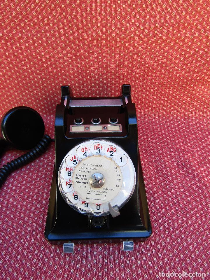 Teléfonos: TELEFONO CENTRALITA DE LA MARCA ERICSSON (FRANCIA). MEDIADOS DEL SIGLO XX. - Foto 10 - 82829212