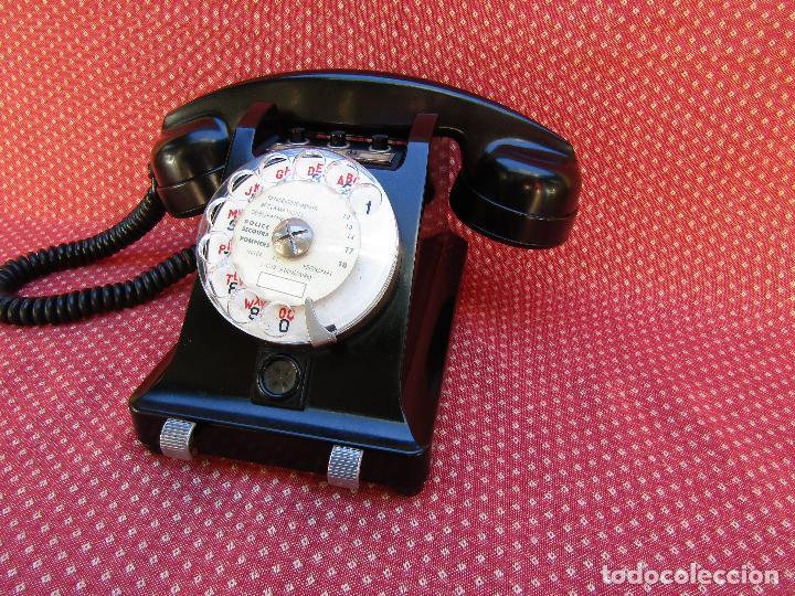 Teléfonos: TELEFONO CENTRALITA DE LA MARCA ERICSSON (FRANCIA). MEDIADOS DEL SIGLO XX. - Foto 11 - 82829212