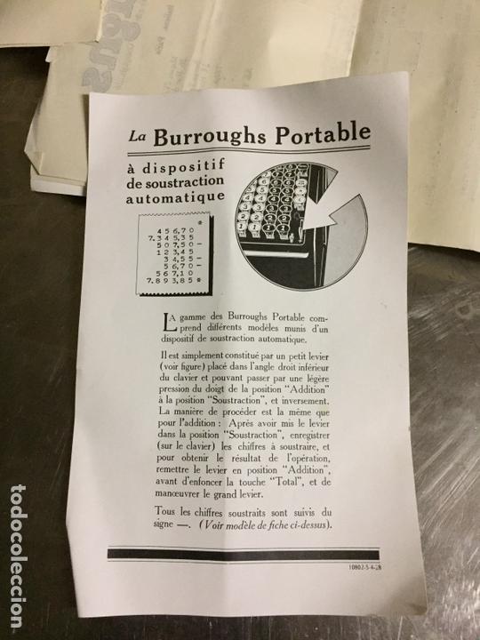 Antigüedades: Calculadora registradora Burroughs 1927 - Foto 12 - 82814631