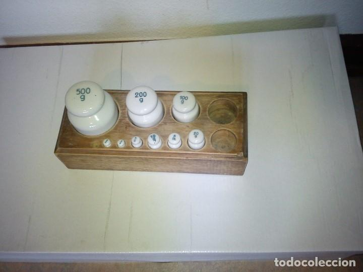 Antigüedades: ANTIGUIOS PESOS DE FARMACIA DE COLECION ANOS 30.40 - Foto 11 - 82903884