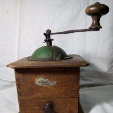 Antigüedades: MOLINILLO DE MADERA , PEUGEOT (FRANCÉS). Lote 82907564