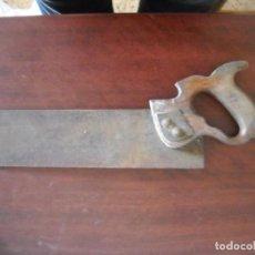 Antigüedades: ANTIGUO SERRUCHO SIERRA CARPINTERO - VER FOTOS DETALLES. Lote 83004368