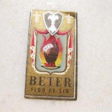 Antigüedades: HOJA DE AFEITAR DE LA MARCA BETER FLOR DE LIS. Lote 83282480