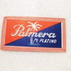 Antigüedades: HOJA DE AFEITAR DE LA MARCA PALMERA PLATINO. Lote 83282744