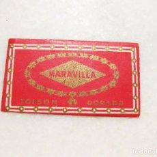 Antigüedades: HOJA DE AFEITAR DE LA MARCA MARAVILLA TOISON DORADO. Lote 83283000