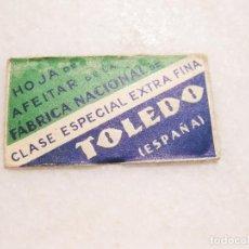 Antigüedades: HOJA DE AFEITAR DE LA FABRICA NACIONAL- CLASE ESPECIAL EXTRA FINA - TOLEDO. Lote 83283548
