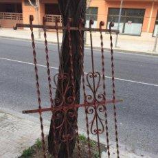 Antigüedades: ANTIGUA REJA DE FORJA . Lote 83362200