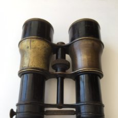 Antigüedades: PRISMÁTICOS ANTIGUOS DE TRIPLE LENTE. Lote 83364031