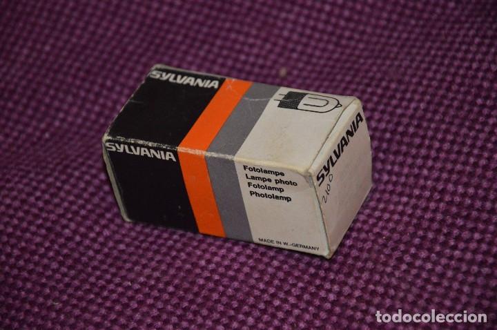 Antigüedades: VINTAGE - NOS - BOMBILLA SYLVANIA BVM GX6.35-25 - 220V - 650W - ¡¡HAZME UNA OFERTA!! - Foto 5 - 83366684