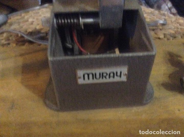Antigüedades: Visionador, REBOBINADOR DE PELÍCULAS 8mm MURAY - Foto 3 - 223042970