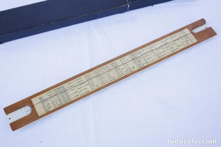 Antigüedades: Regla de cálculo - A.W.FABER - CASTELL - - Foto 5 - 83546316