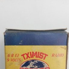 Antigüedades: PILA BATERIA CEGASA TXIMIST RADIO. Lote 83565748
