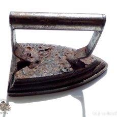 Antigüedades: PLANCHA DE HIERRO. Lote 83636332