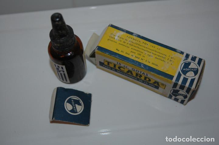 Antigüedades: ANTIGUA CAJA DE TICARDA MEDICAMENTO VER FOTOS - Foto 2 - 83640748