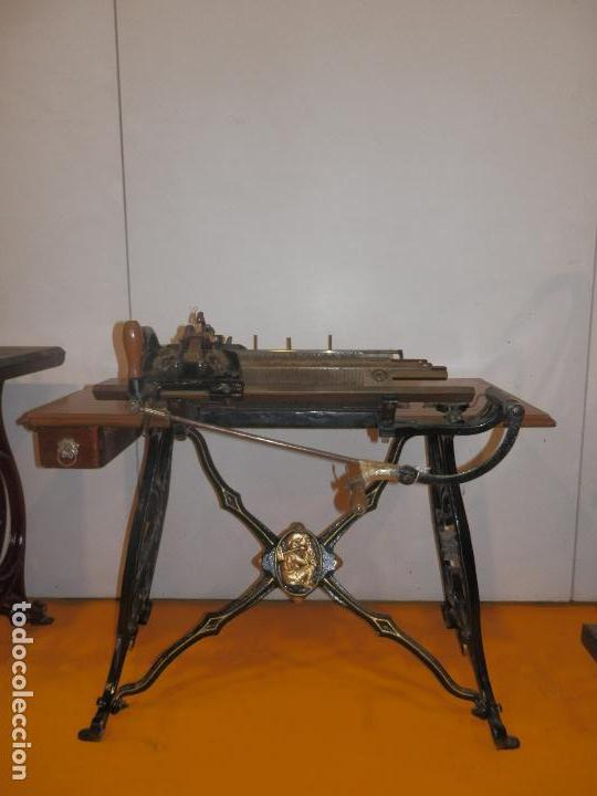 Antigüedades: Fantástica máquina de tricotar Wertheim Rápida SA (Barcelona) - Foto 7 - 83762120