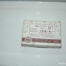 Antigüedades: CAJA DE MEDICAMENTO ANTIGUA- AMPOLLAS - IDO -K ...VER FOTOS. Lote 83775584