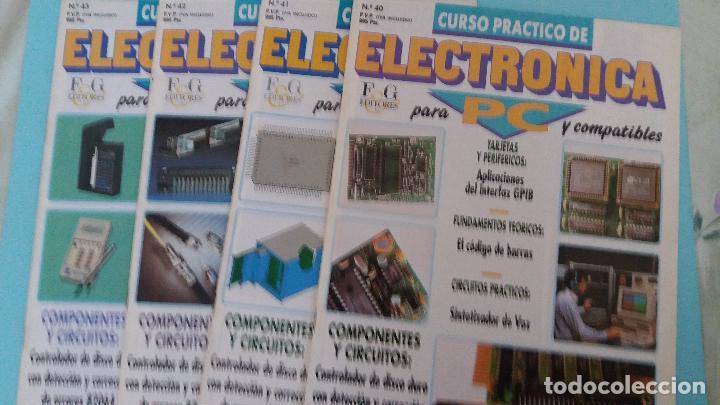 LOTE CIRCUITOS PLACAS PBC Y CHIPS ELECTRONICA PARA PC DE FASCICULOS F&G (Antigüedades - Técnicas - Ordenadores hasta 16 bits (anteriores a 1982))