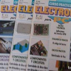 Antigüedades: LOTE CIRCUITO PBC ELECTRONICA PARA PC DE FASCICULOS F&G. Lote 83823740