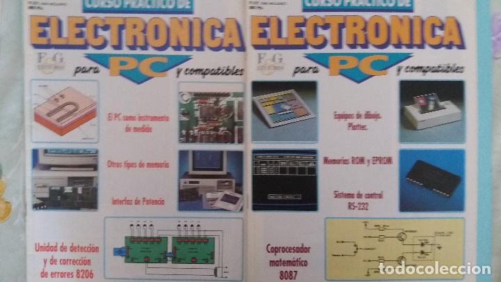 Antigüedades: Lote circuitos placas pbc y chips electronica para pc de fasciculos f&g - Foto 5 - 83823740