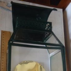 Antigüedades: FAROL DECORACION NAUTICA DE 1971 ,TOTALMENTE RESTAURADO,CABLE ETC,FUNCIONANDO PERFECTAMENTE. Lote 83831556