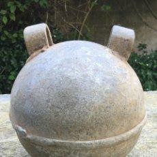 Antigüedades: BOYA DE PESCA PARA REDES EN ALUMINIO. Lote 84185112