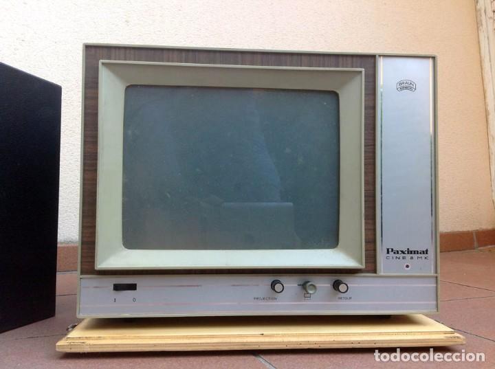 Antigüedades: BRAUN PAXIMAT CINE 8 MK. Proyector Super 8 - Foto 3 - 84251588