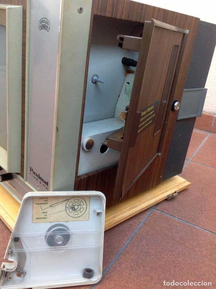 Antigüedades: BRAUN PAXIMAT CINE 8 MK. Proyector Super 8 - Foto 5 - 84251588