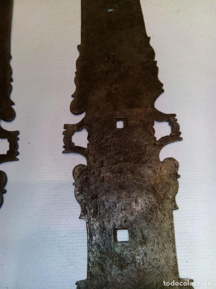 Antigüedades: BISAGRA ANTIGUA DE HIERRO FORJADO - Foto 9 - 84258864