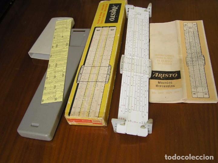 REGLA DE CALCULO ARISTO MULTILOG 0970 - CALCULADORA SLIDE RULE RECHENSCHIEBER 970 (Antigüedades - Técnicas - Aparatos de Cálculo - Reglas de Cálculo Antiguas)