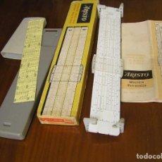 Antigüedades: REGLA DE CALCULO ARISTO MULTILOG 0970 - CALCULADORA SLIDE RULE RECHENSCHIEBER 970. Lote 84303164