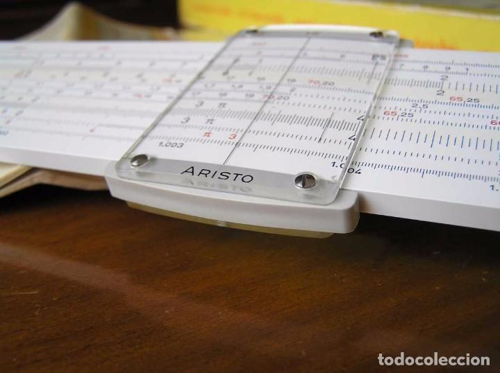 Antigüedades: REGLA DE CALCULO ARISTO MULTILOG 0970 - CALCULADORA SLIDE RULE RECHENSCHIEBER 970 - Foto 28 - 84303164