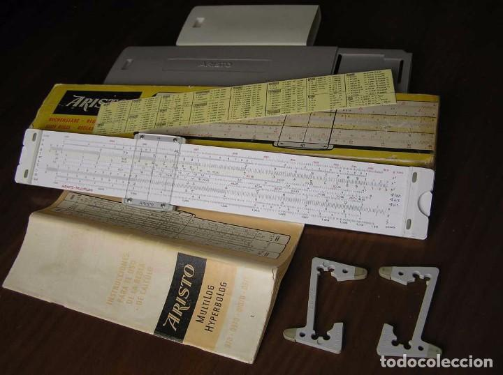 Antigüedades: REGLA DE CALCULO ARISTO MULTILOG 0970 - CALCULADORA SLIDE RULE RECHENSCHIEBER 970 - Foto 31 - 84303164