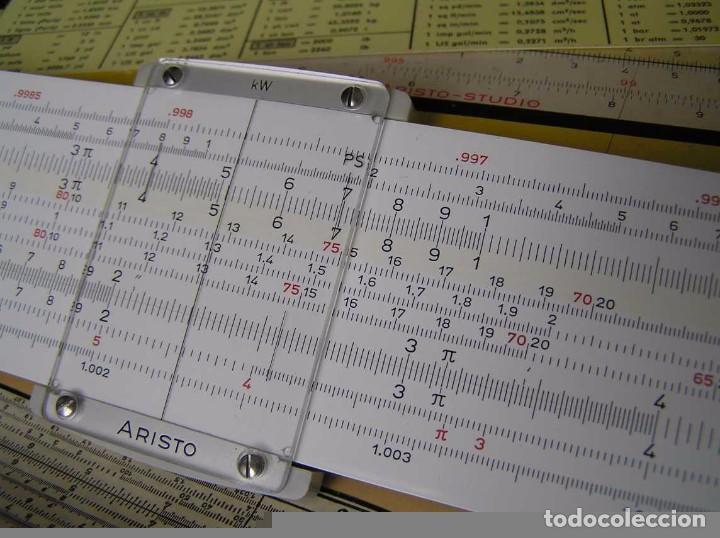 Antigüedades: REGLA DE CALCULO ARISTO MULTILOG 0970 - CALCULADORA SLIDE RULE RECHENSCHIEBER 970 - Foto 33 - 84303164