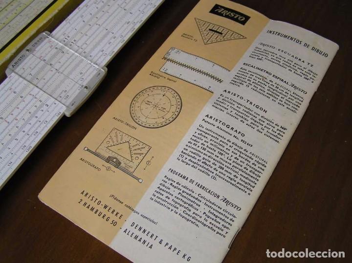 Antigüedades: REGLA DE CALCULO ARISTO MULTILOG 0970 - CALCULADORA SLIDE RULE RECHENSCHIEBER 970 - Foto 50 - 84303164