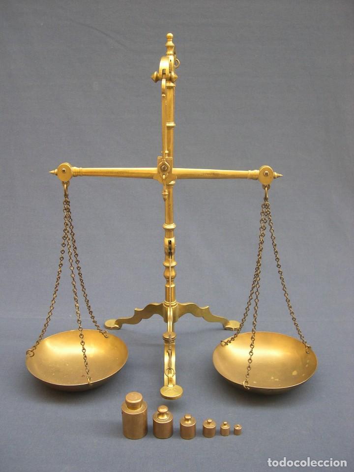 BALANZA DOYLE&SONS SIGLO XIX (Antigüedades - Técnicas - Medidas de Peso - Balanzas Antiguas)