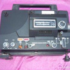 Antigüedades: PROYECTOR DE CINE SUPER 8 VOIGTLANDER DYNALUX 8 SOUND MAGNETIC SYSTEM. Lote 84483048