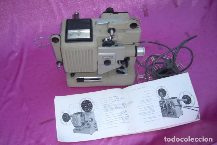 Antigüedades: PROYECTOR DE CINE EUMIG PHONOMATIC SUPER 8 MADE IN AUSTRIA - Foto 10 - 84483760